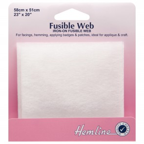 Fusible Web: 58 x 50cm
