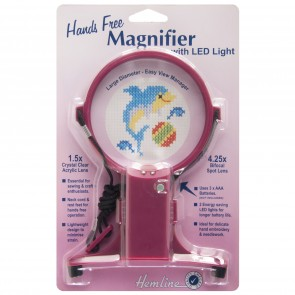Hands Free Neck Magnifier with LED Light