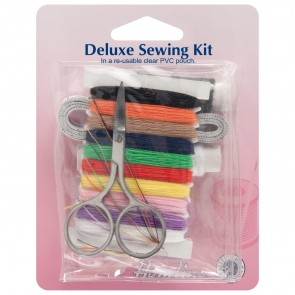 Deluxe Sewing Kit with PVC Pouch