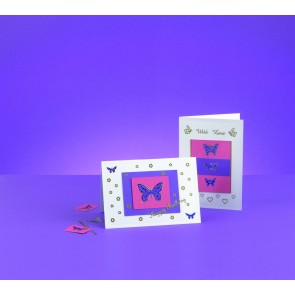 Mini Card Making Kit - Butterflies