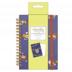 A6 Notebook - It's A Sloths Life