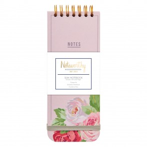 Slim Notebook - Graphic Florals