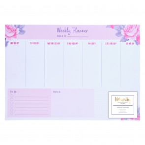 A3 Desk Pad - Graphic Florals