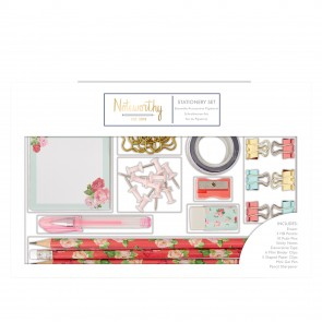 Large Stationery Set - Graphic Florals