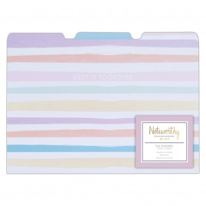Files Dividers  (3pcs) - Pastel Hues