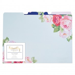 Files Dividers (3pcs) - Graphic Florals