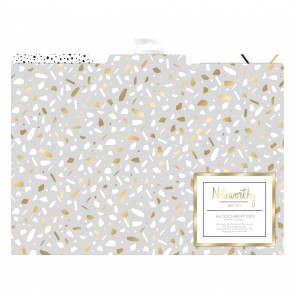 File Dividers (3pcs) - Metallic Mono