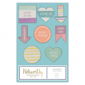 Magnets (8pcs) - Pastel Hues