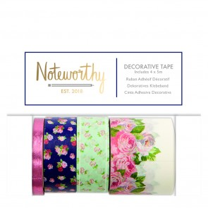 Decorative Tape (4x5m) - Graphic Florals