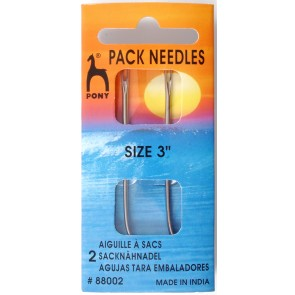 Pack Needles: 3 inches