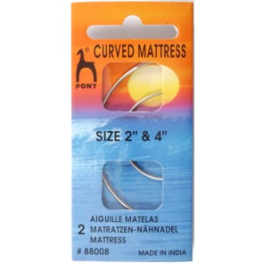 Curved Mattress Needles: 2 and 4 inches