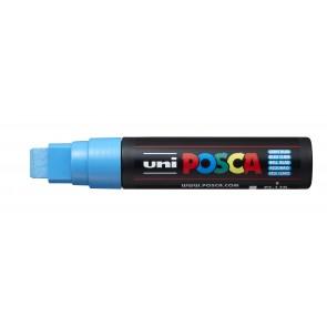 PC-17K POSCA Marker Extra Broad Chisel Tip Light Blue