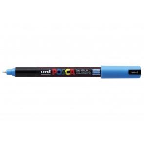 PC-1MR POSCA Marker Ultra Fine Bullet Tip Light Blue