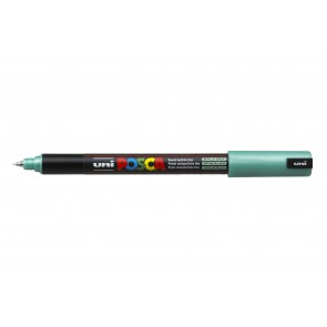 PC-1MR POSCA Marker Ultra Fine Bullet Tip Metallic Green
