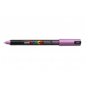 PC-1MR POSCA Marker Ultra Fine Bullet Tip Metallic Pink