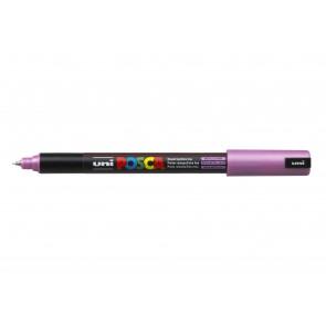 PC-1MR POSCA Marker Ultra Fine Bullet Tip Metallic Pink