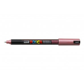 PC-1MR POSCA Marker Ultra Fine Bullet Tip Metallic Red