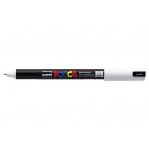 PC-1MR POSCA Marker Ultra Fine Bullet Tip White