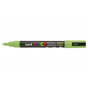 PC-3M POSCA Marker Fine Bullet Tip Apple Green
