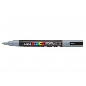 PC-3M POSCA Marker Fine Bullet Tip Grey
