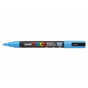 PC-3M POSCA Marker Fine Bullet Tip Light Blue