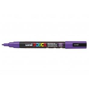 PC-3M POSCA Marker Fine Bullet Tip Violet