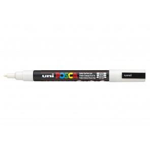 PC-3M POSCA Marker Fine Bullet Tip White