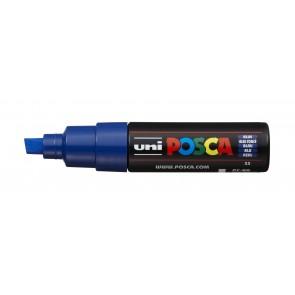 PC-8K POSCA Marker Broad Chisel Tip Blue