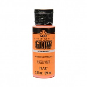 Glow in the Dark Paint 59ml Orange