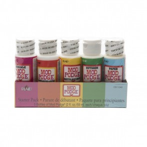 Mod Podge Starter Set (5 x 2oz)