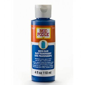 Mod Podge Sheer Colour Blue 4oz