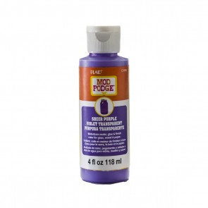 Mod Podge Sheer Colour Purple 4oz