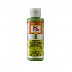 Mod Podge Sheer Colour Green 4oz