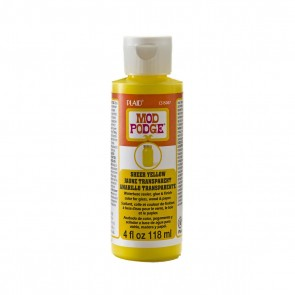 Mod Podge Sheer Colour Yellow 4oz