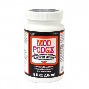 Mod Podge Clear Chalkboard Topcoat 8oz