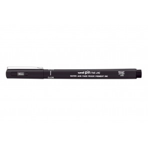 PIN005-200 uni PIN Fine Line 0.05mm Drawing Pen Black