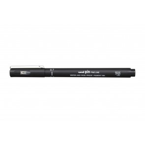 PIN07-200 uni PIN Fine Line 0.7mm Drawing Pen Black