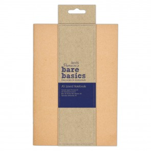 Kraft Cover Lined Notebook (A5) - Bare Basics