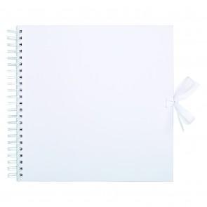 "12 x 12"" Scrapbook - White"