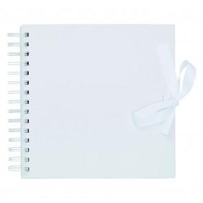 "8 x 8"" Scrapbook - White"