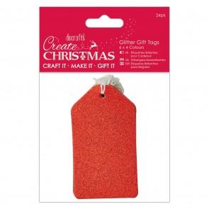 Glitter Gift Tags (24pk)