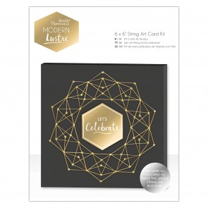 "6 x 6"" String Art Card Kit - Modern Lustre"