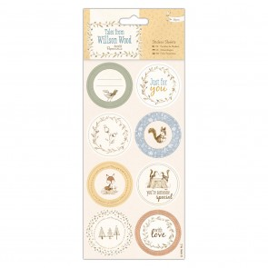 Sticker Sheets (16pcs) - Tales from Willson Wood
