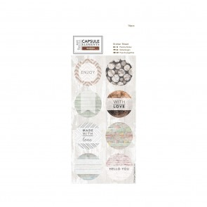 Sticker Sheet (16pcs) - Elements Wood
