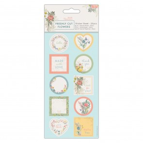 Sticker Sheet (20pcs) - Freshly Cut Flowers
