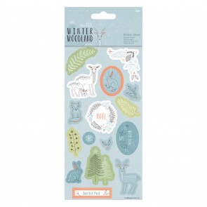 Sticker Sheet (2pk) - Winter Woodland
