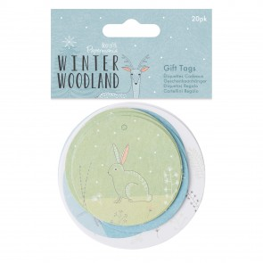 Gift Tags (20pk) - Winter Woodland