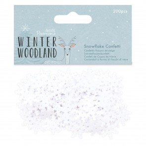 Snowflake Confetti (200pcs) - Winter Woodland