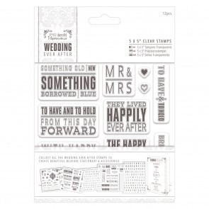 "5 x 5"" Clear Stamps - Topper Sentiments"