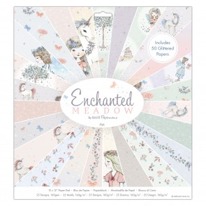 "12 x 12"" Paper Pad (50pk) - Enchanted Meadow"